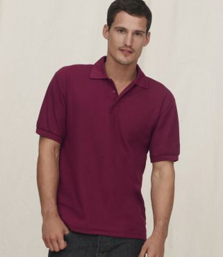SS27 Fruit of the Loom Heavy Pique Polo Shirt
