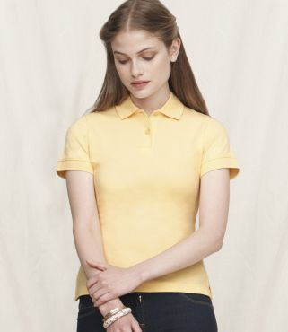 SS75 Fruit Of The Loom Lady Fit Polo